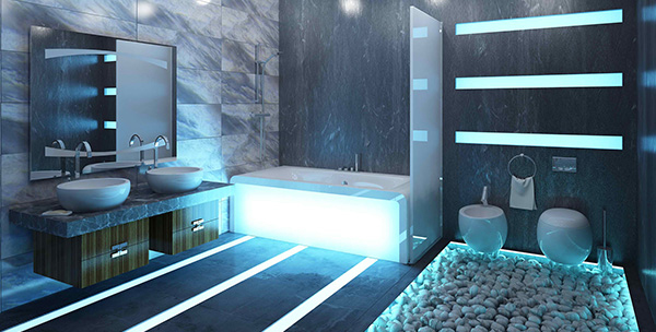 salles de bains modernes