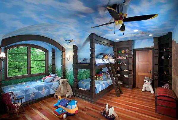 plafond fantaisiste