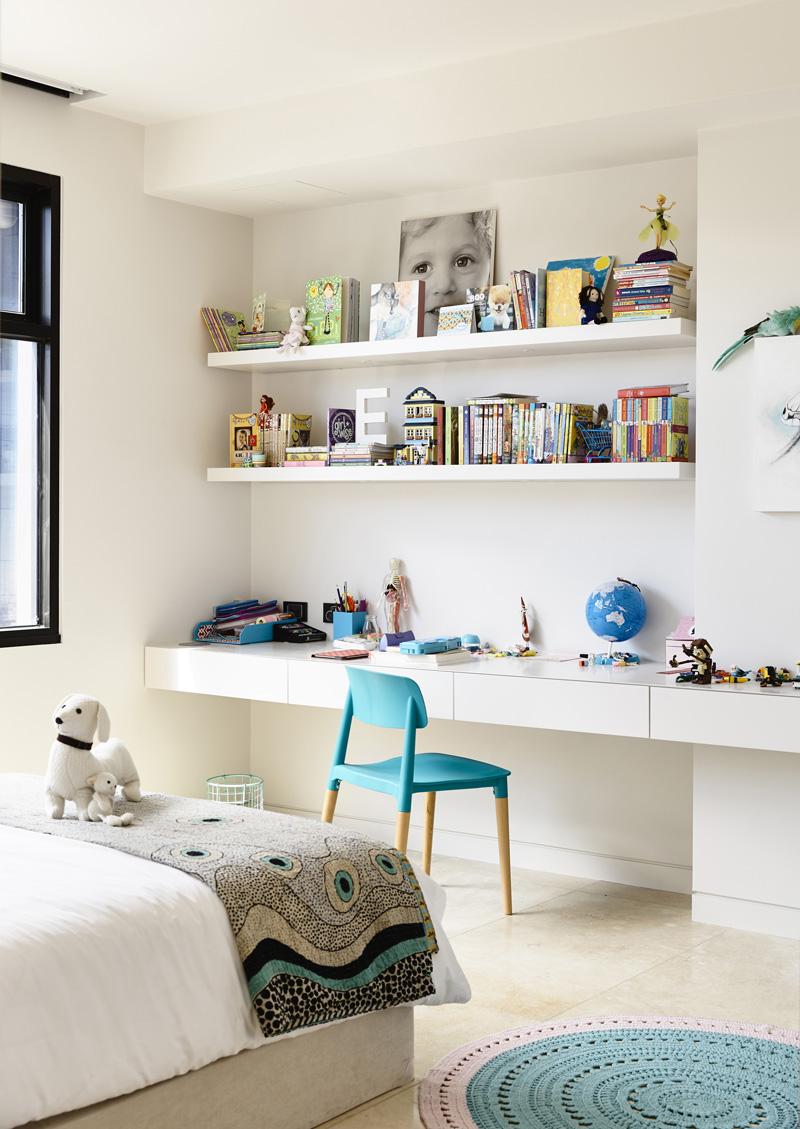 chambre d'enfant vivante