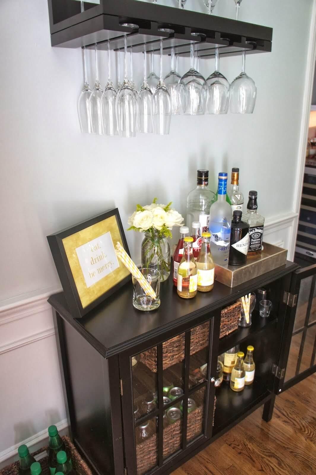 Idées de rangement dans la salle à manger pour les amateurs de vin