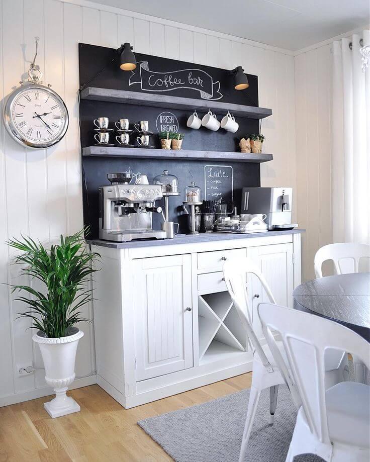 Construisez votre propre bar à café