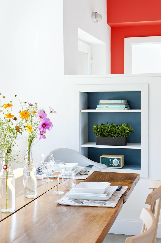 Idées de rangement pour salle à manger dans un petit espace