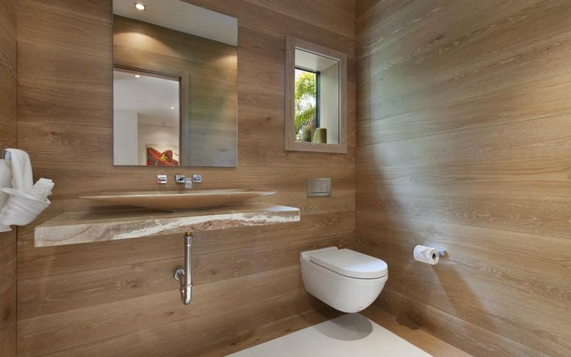 bain maison de plage