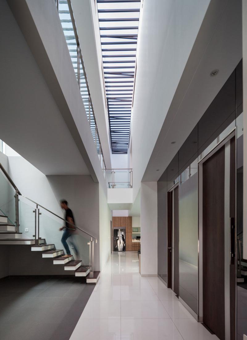 Escalier de maison moderne