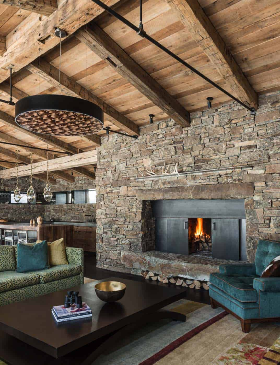 Mountain Guest Cabin-Pearson Design Group-07-1 Kindesign