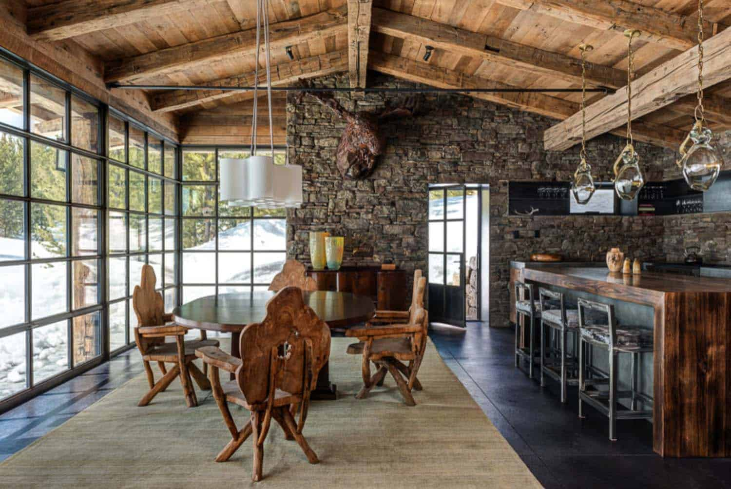 Mountain Guest Cabin-Pearson Design Group-04-1 Kindesign