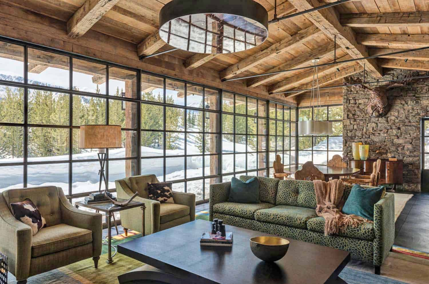 Mountain Guest Cabin-Pearson Design Group-002-1 Kindesign