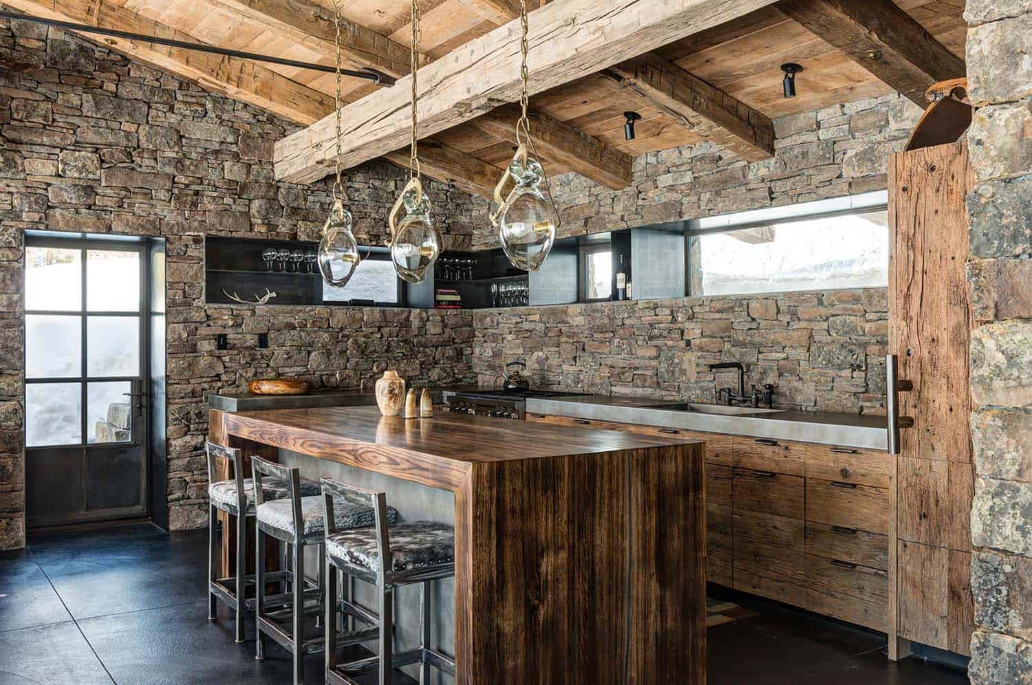 Mountain Guest Cabin-Pearson Design Group-05-1 Kindesign