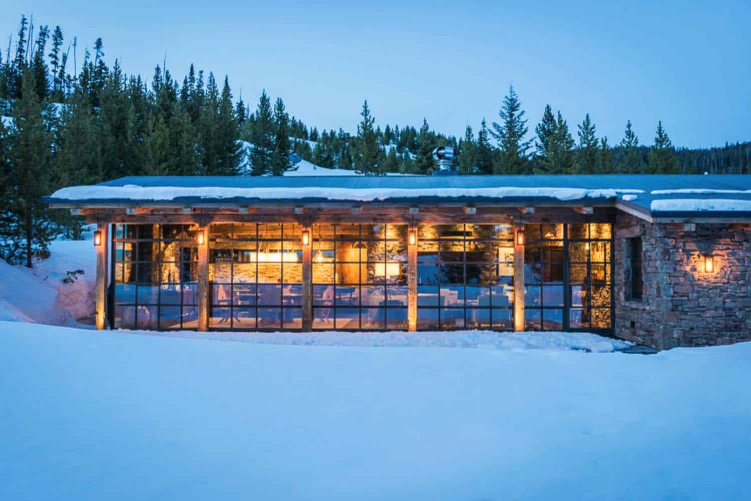 Mountain Guest Cabin-Pearson Design Group-19-1 Kindesign