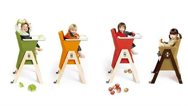 chaise évolutive à double hauteur