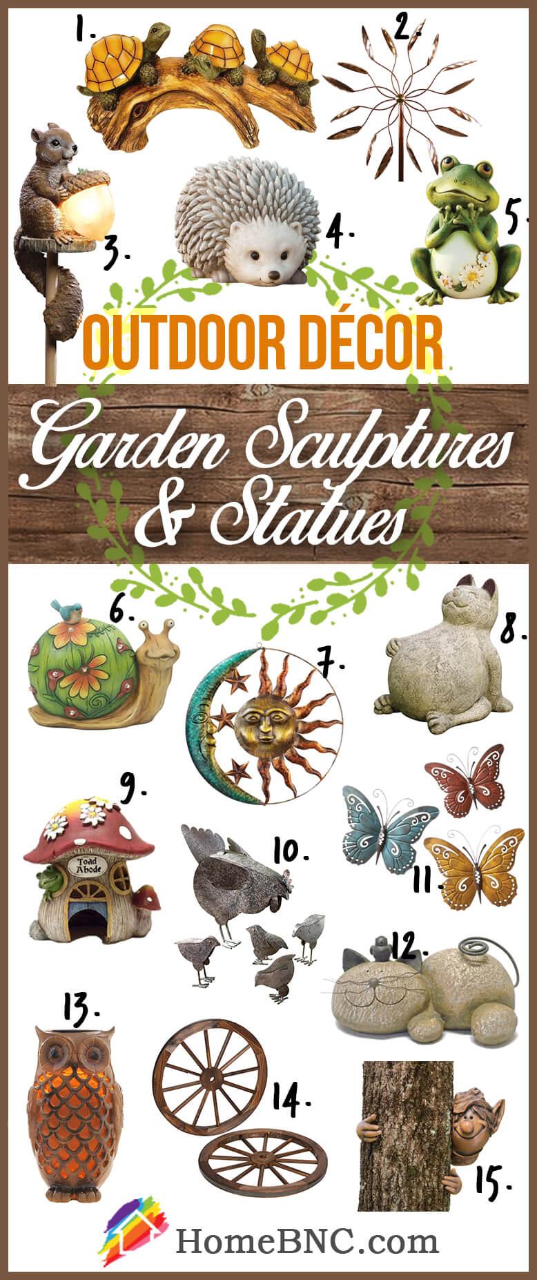 Sculptures et statues Idées de décoration extérieure