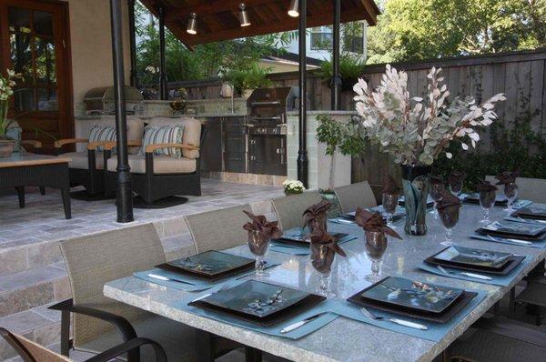 Tables en granit
