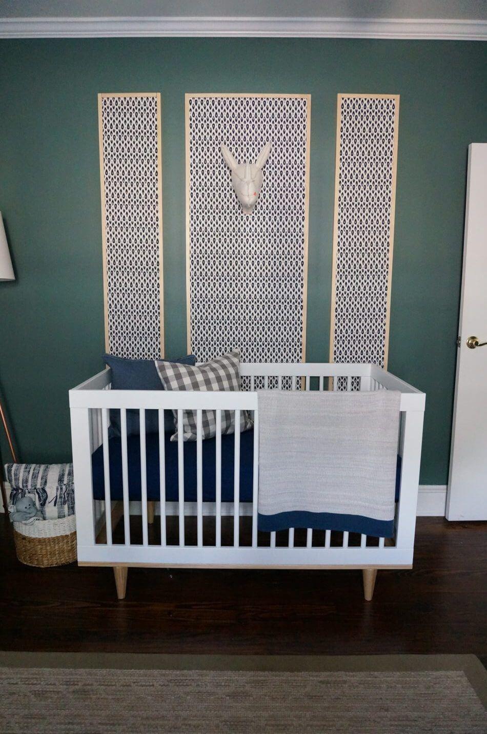 Vert avec Envy Nursery Design
