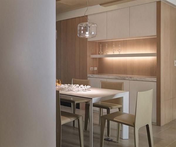 comptoir en marbre de cuisine