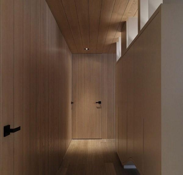 couloir en bois