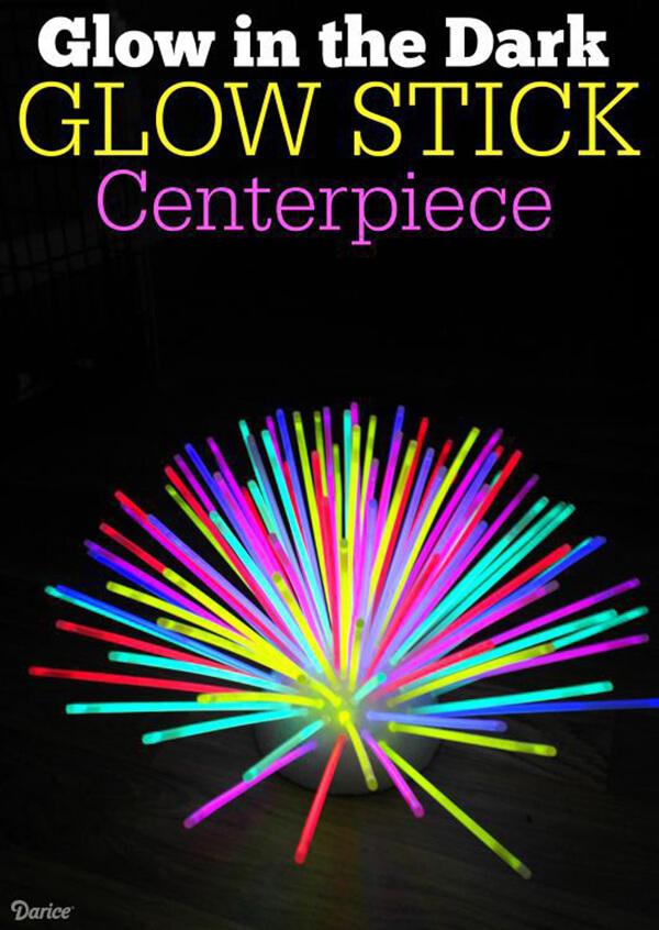 Glow Stick Décor : les options sont infinies