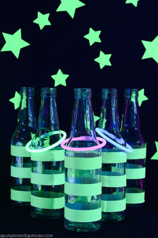 Glow Tape, étoiles et bâtons pour une nouvelle tournure sur Ring Toss