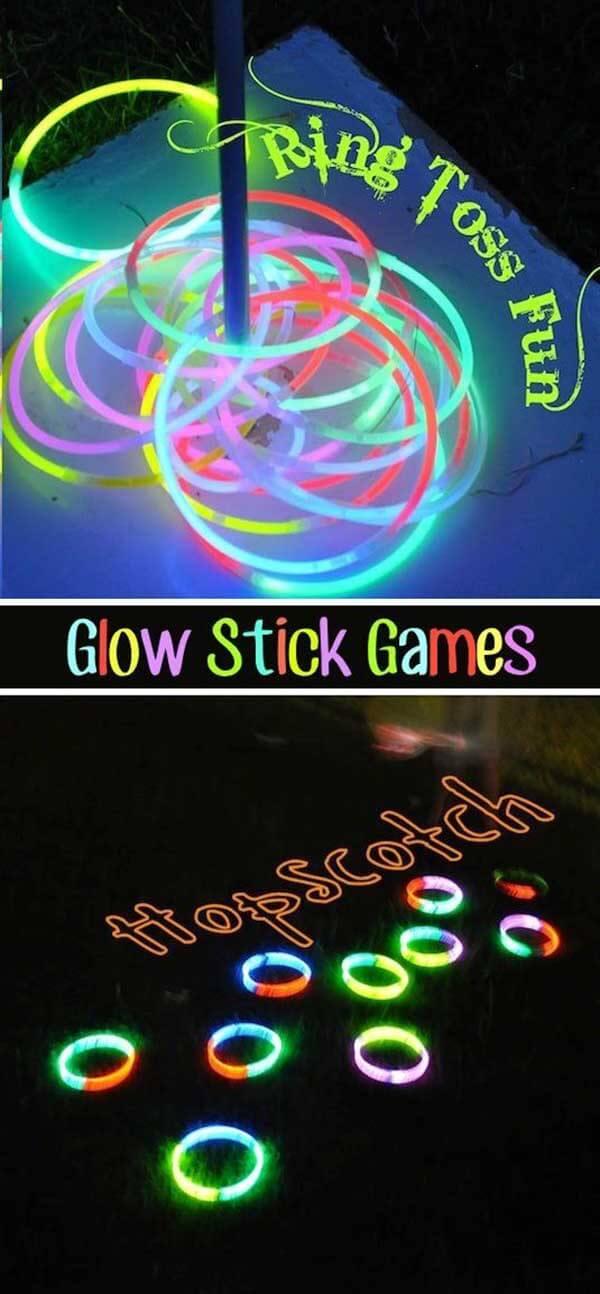 Glowstick Game Night: des prix pour l'utilisation la plus créative?