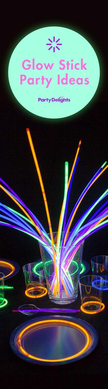 Les idées de décoration de bâton lumineux sont illimitées