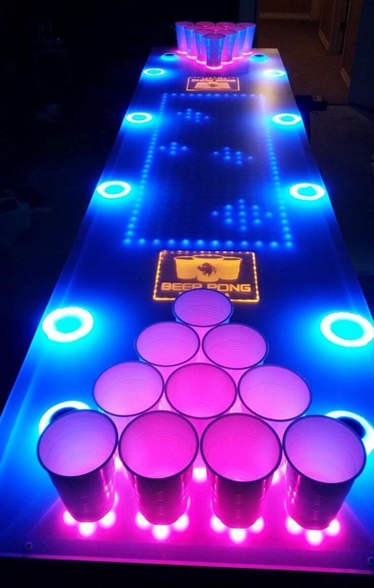 Améliorez le Beer Pong Challenge pour les soi-disant experts