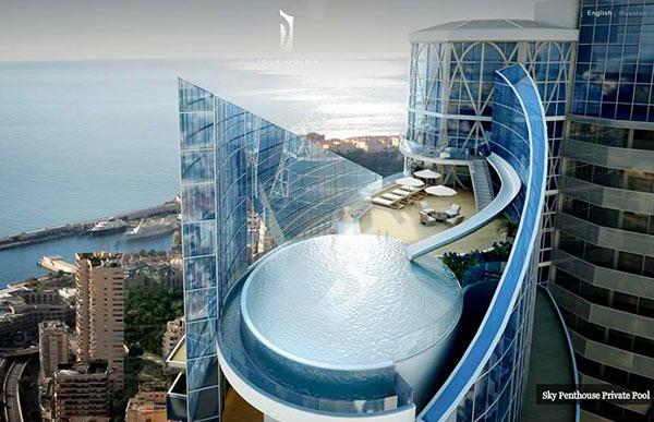 15 superbes piscines sur le toit relaxantes