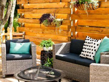 16 projets de bricolage impressionnants pour rafraîchir votre jardin d'été