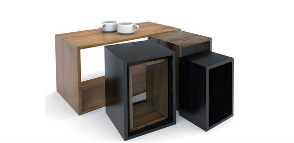 Tables centrales modernes