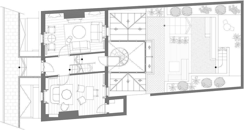 Maison de ville géorgienne-Kingston Lafferty Design-29-1 Kindesign