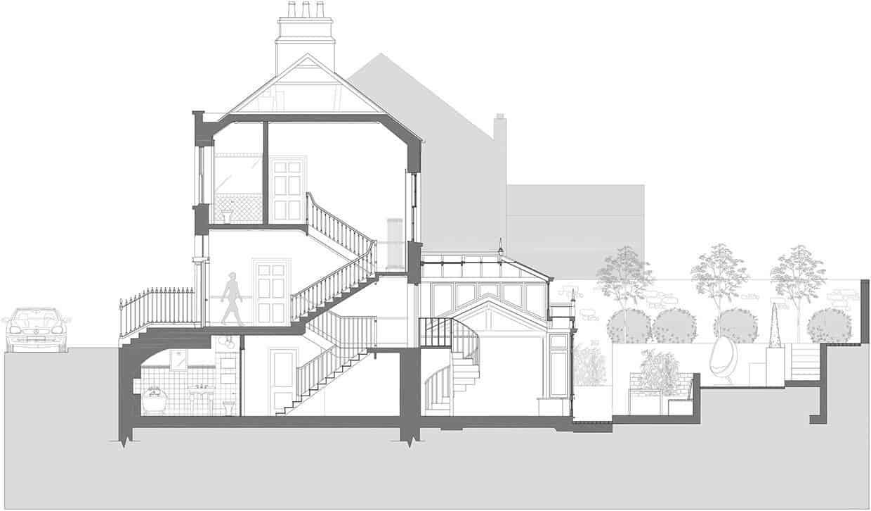 Maison de ville géorgienne-Kingston Lafferty Design-27-1 Kindesign