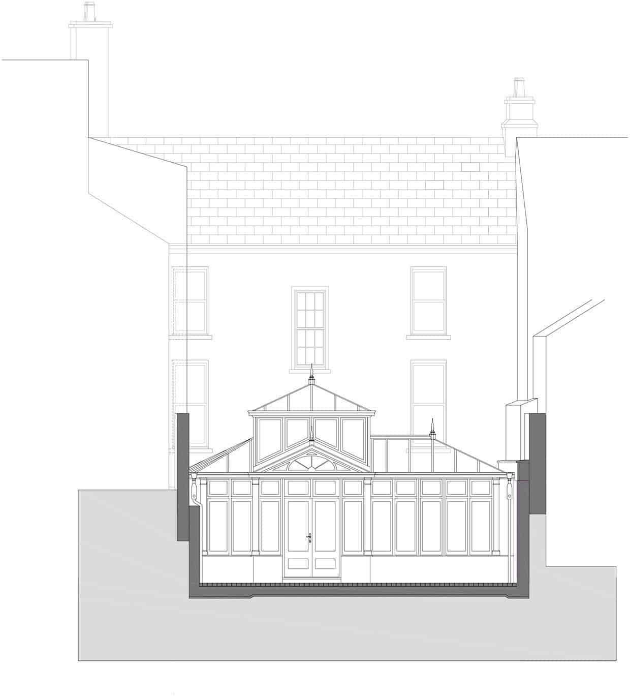 Maison de ville géorgienne-Kingston Lafferty Design-28-1 Kindesign