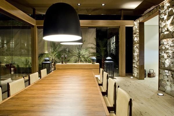 éclairage de la salle à manger