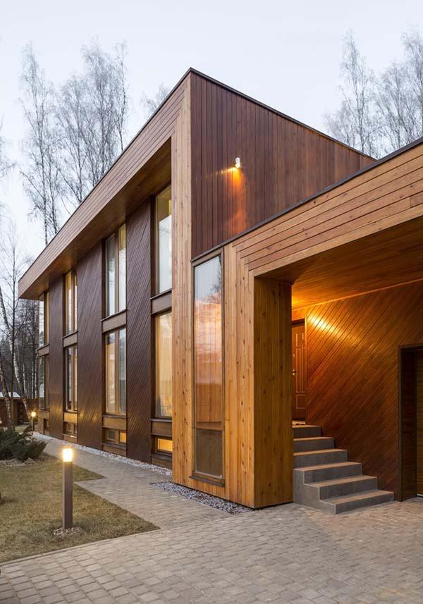 aménagement extérieur en bois