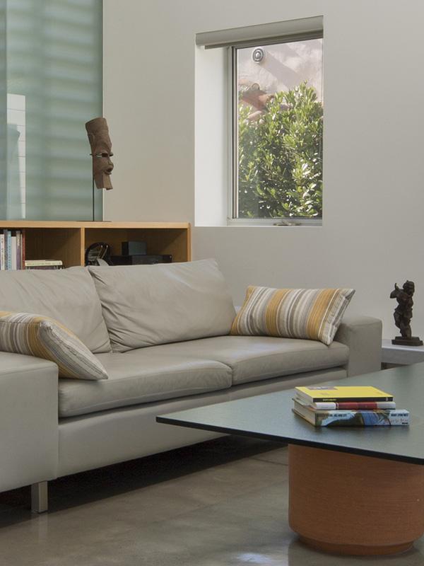 ensemble de canapé gris