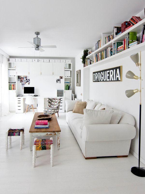 Intérieurs d'appartements blancs-02-1 Kindesign