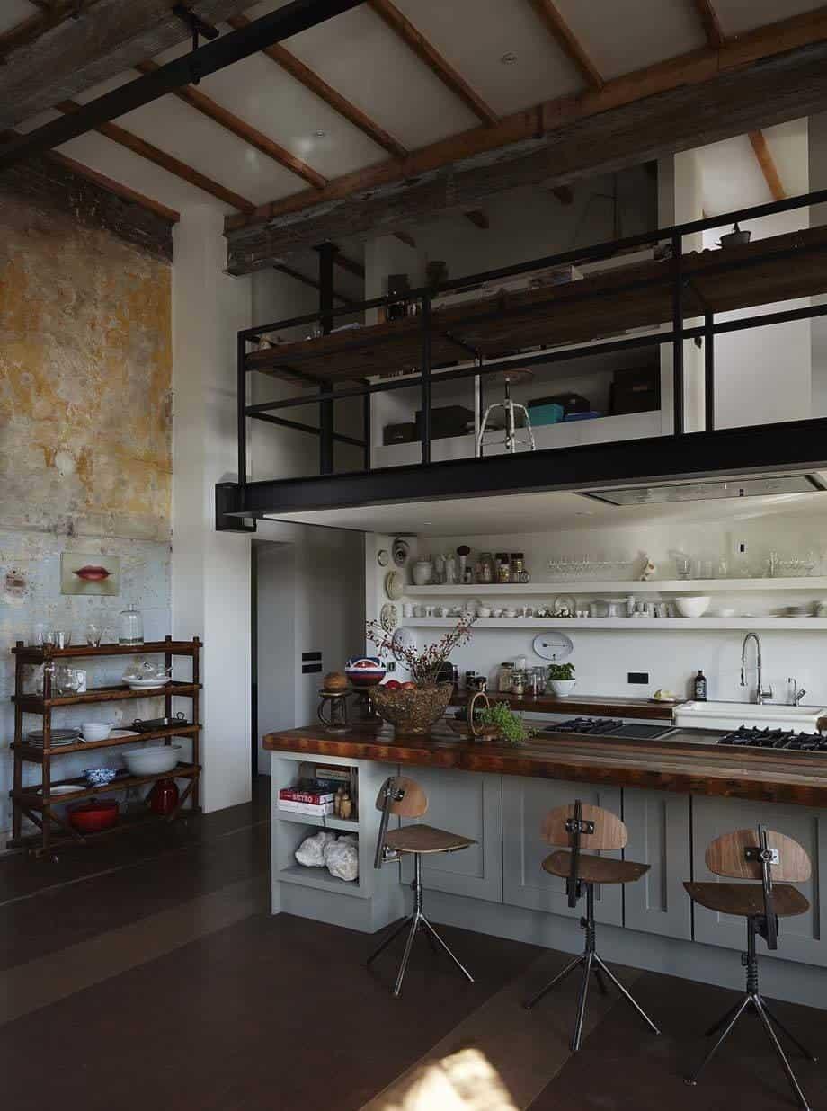 Loft Intérieur-Briques Studio-02-1 Kindesign
