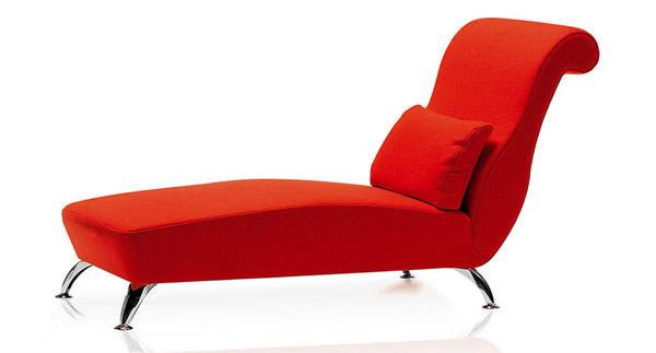 Longue rouge sophistiquée
