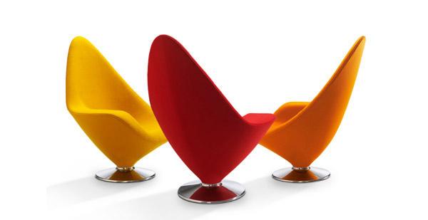 chaise vert pomme