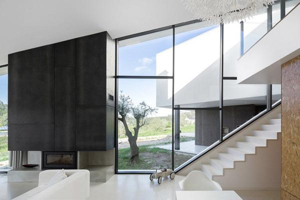 murs de verre