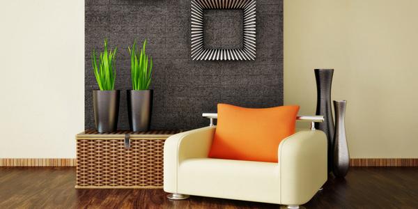 Unir le look de l'intérieur de la maison avec des couleurs