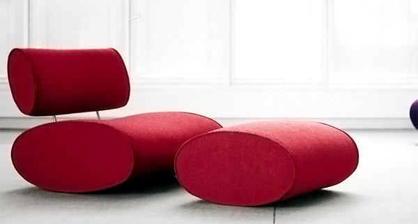 Conceptions de canapés modernes