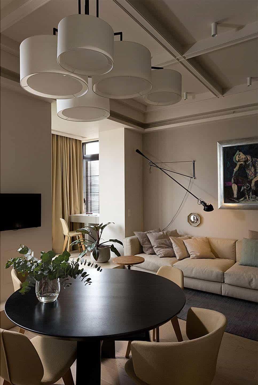 Intérieur d'appartement contemporain-Olga Akulova-05-1 Kindesign