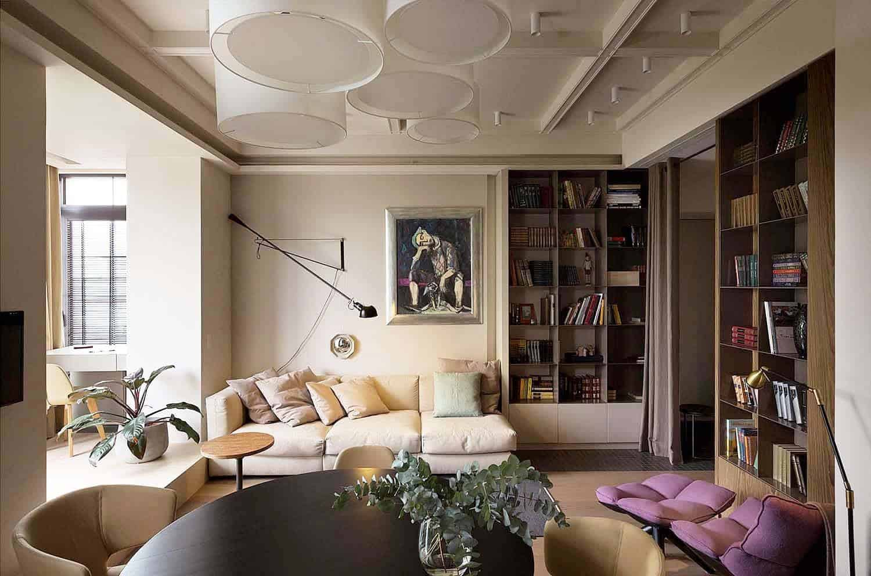 Intérieur d'appartement contemporain-Olga Akulova-04-1 Kindesign