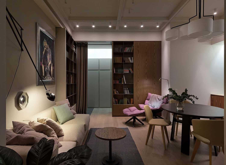 Appartement Contemporain Intérieur-Olga Akulova-06-1 Kindesign