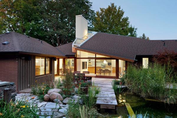 conception de toit en pente