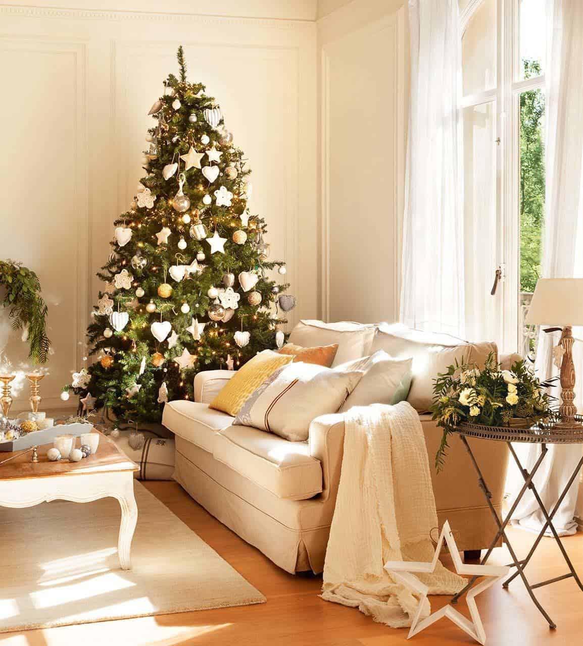 Maison décorée de Noël-04-01 Kindesign
