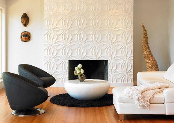 Conceptions de murs texturés