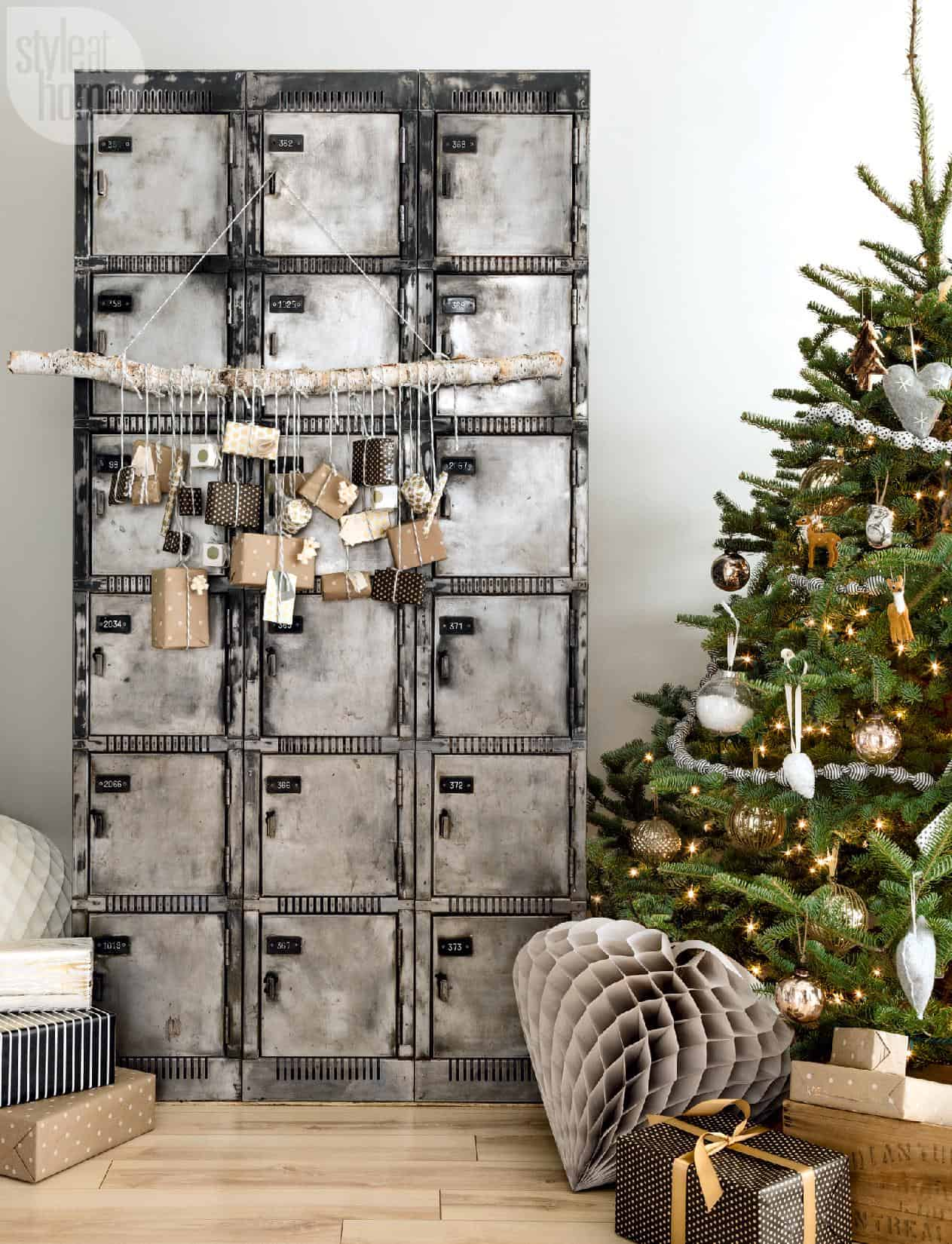 Maison de Noël scandinave-02-1 Kindesign