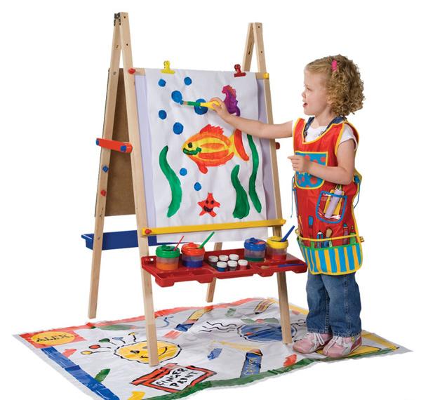 Chevalets d'art pour enfants