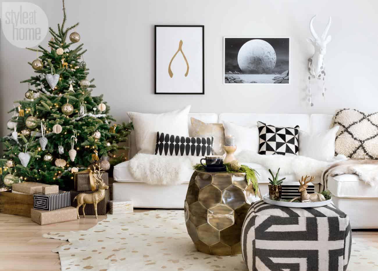 Maison de Noël scandinave-01-1 Kindesign