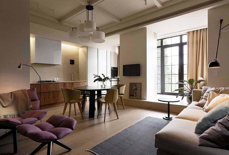 Intérieur d'appartement contemporain-Olga Akulova-00-1 Kindesign